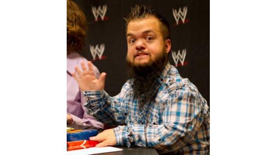 Hornswoggle is one of the contest judges.