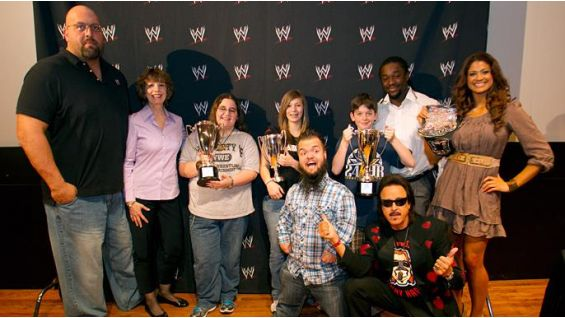 The competition was at Fulton Public Library's main branch during WrestleMania Week.