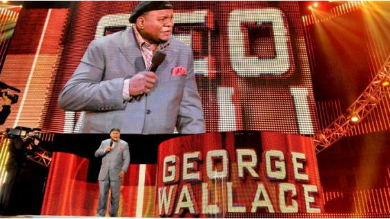 Comedian George Wallace brings a hefty load of laughter to Fort Bragg.