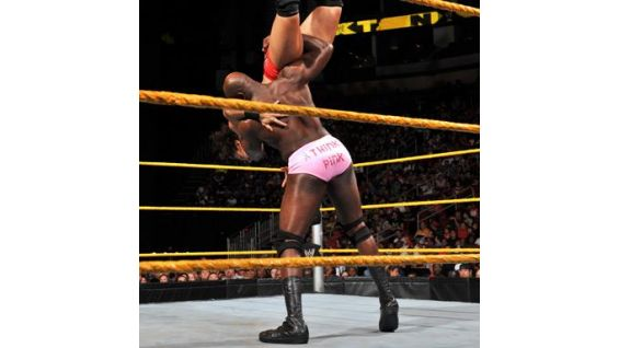 """With everyone in other sports recognizing the fact that it's Breast Cancer Awareness Month, I figured I'd do the same thing in WWE,"" O'Neil said."