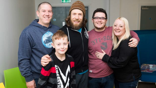 Daniel Bryan grants a wish for Finn in Minehead, England