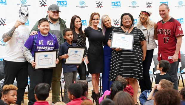 WWE hosts a Be a STAR rally during Royal Rumble Weekend in Phoenix: photos