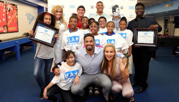Be a STAR rally with the Boys & Girls Clubs of Central Florida during WrestleMania 33 week: photos