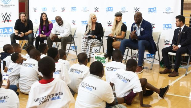 Superstars host a Be a STAR rally during WrestleMania Weekend in New Orleans: photos