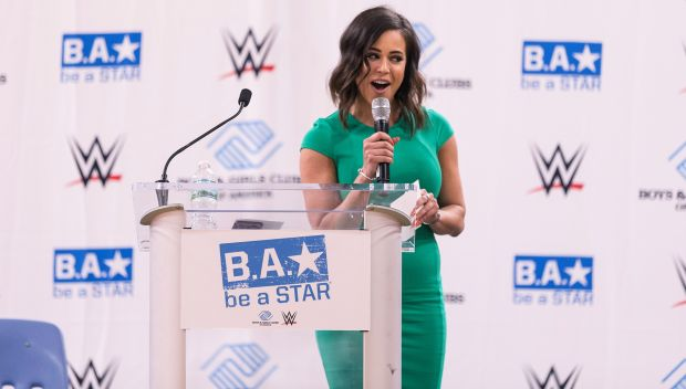 WWE hosts Be a STAR rally at the Boys & Girls Club of Stamford in June 2017: photos
