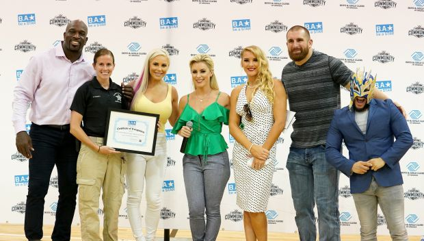 WWE hosts a Be a STAR rally in Tampa: photos
