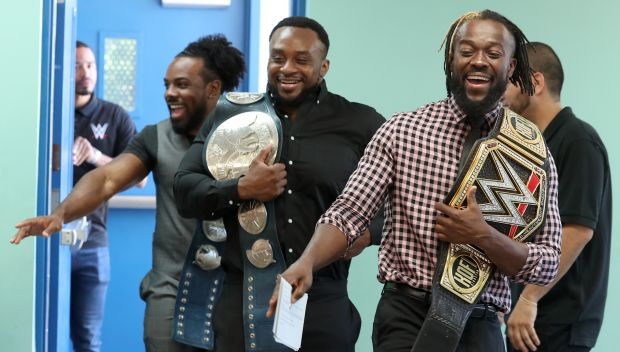WWE hosts a Be a STAR rally in Miami: photos