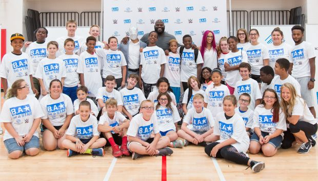 Mark Henry, Sin Cara and Sasha Banks host Pittsburgh Be a STAR event: photos