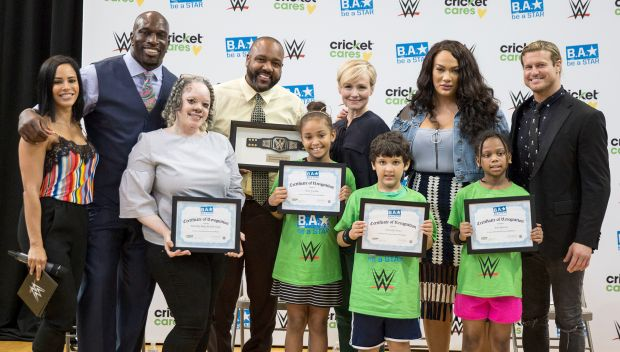 Be a STAR rally in Bronx, N.Y., before SummerSlam 2018: photos