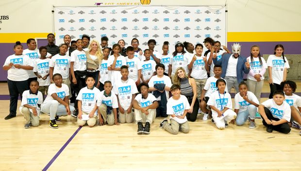 WWE Superstars host Be a STAR rally at Boys & Girls Club of Metro Los Angeles: photos
