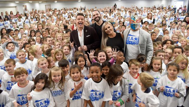 WWE hosts a Be a STAR rally in honor of Tribute to the Troops in San Diego: photos