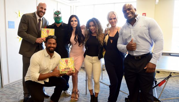Superstars host a Reading Celebration with First Book during SummerSlam Week: photos