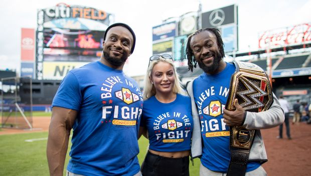 WWE Superstars and the New York Mets host Connor's Cure Night at Citi Field: photos