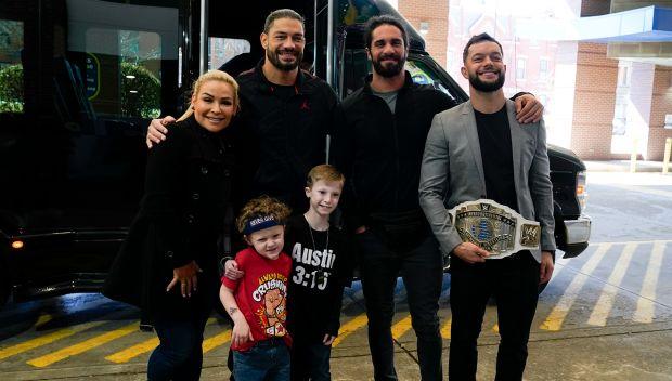Seth Rollins, Roman Reigns, Finn Bálor and Natalya visit UPMC Children's Hospital of Pittsburgh: photos