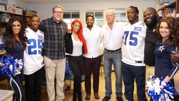 WWE Superstars visit Ronald McDonald House of Dallas and North Texas Youth Education Town in Arlington, Texas