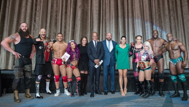 WWE joins March of Dimes New York's 34th Annual Sports Luncheon