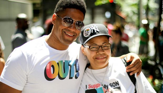 Darren Young at the 2014 NYC Pride March: photos