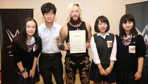 Enzo Amore hosts meet-and-greet in Tohoku, Japan: photos
