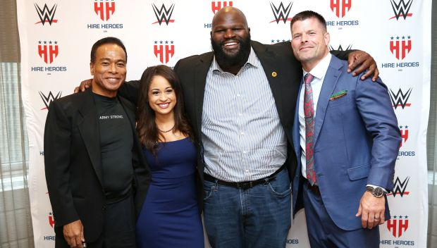 WWE and Hire Heroes USA host a Veteran Employment Panel and Networking Event during SummerSlam Week: photos