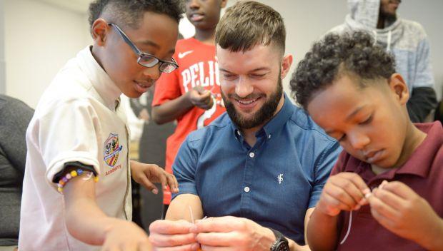Superstars visit Children's Hospital of New Orleans: photos