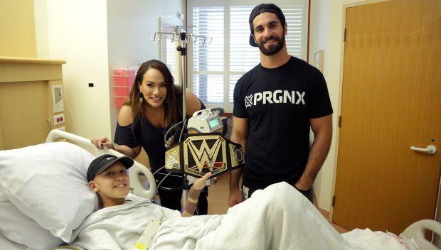 Superstars visit kids at Lucile Packard Children's Hospital: photos