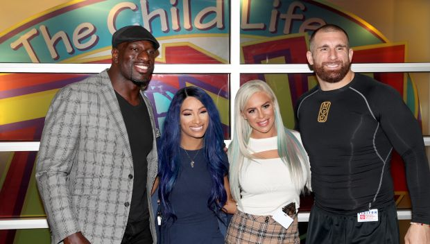 WWE Superstars visit Phoenix Children's Hospital: photos