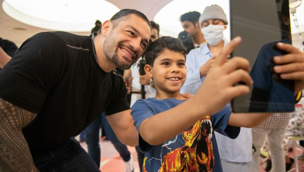 WWE Superstars make new friends at King Abdullah Specialist Children Hospital: photos