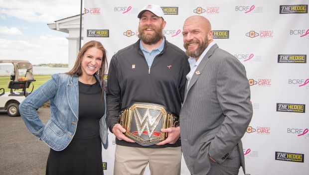 Stephanie McMahon and Triple H at the Hedge Invitational: photos