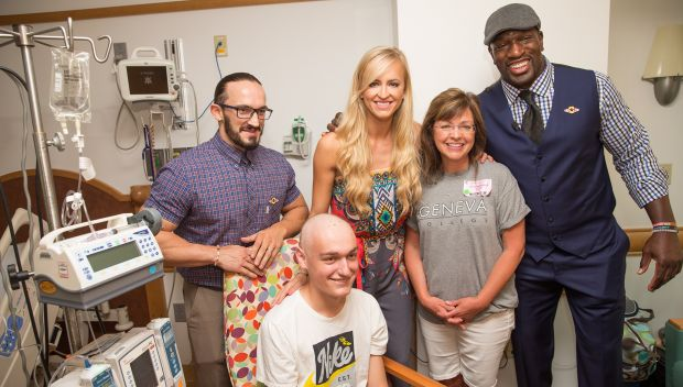 Titus O'Neil, Summer Rae and Neville visit Children's Hospital of Pittsburgh: photos