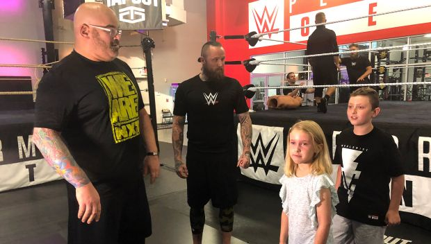 Daniel is surprised when his wish to go to WrestleMania 34 comes true: photos