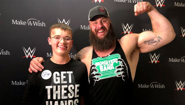 Braun Strowman grants Ryan's wish: photos