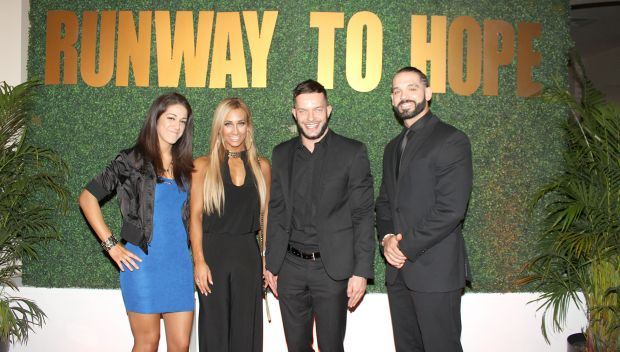 NXT Superstars attend Runway to Hope - Spring Fashion Soirée: photos