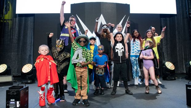 Behind the scenes of the Kid Superstar personas at WrestleMania 34: photos