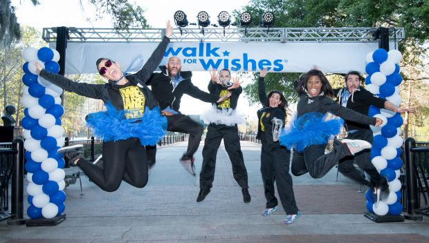 NXT Superstars join the Make-A-Wish Central & North Florida Walk For Wishes: photos