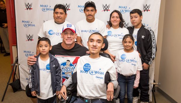 John Cena grants Christian's wish: photos