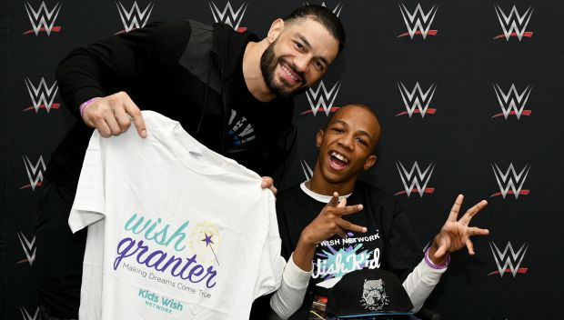 Roman Reigns grants Markel's wish in Memphis: photos