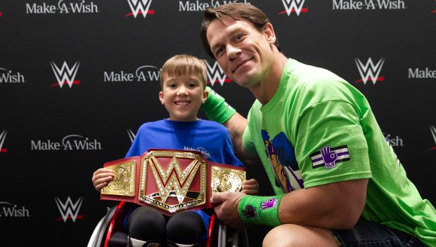 John Cena grants Chance's wish in Orlando, Fla.: photos