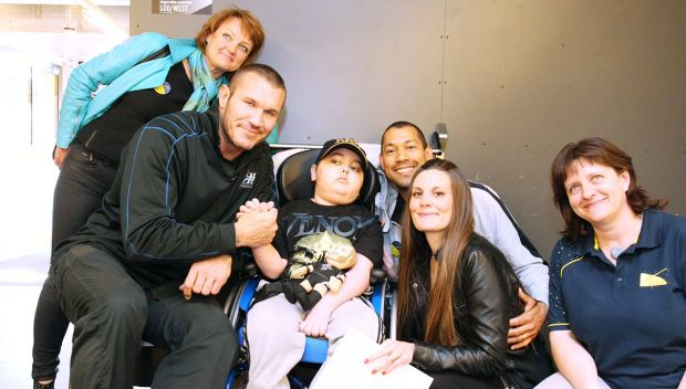 Circle of Champions: Randy Orton meets Hugo in Zurich: photos
