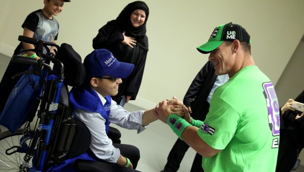 John Cena grants Hamza's wish in Jeddah: photos