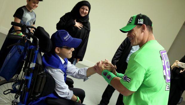 John Cena grants Hamza's wish in Jeddah: photos