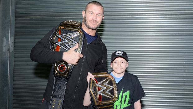 WWE Champion Randy Orton grants wish in London: photos