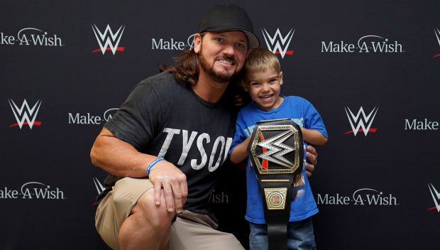 AJ Styles grants Michael's wish in Albany, NY: photos