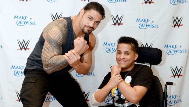 Roman Reigns grants Vianny's wish in Wilkes-Barre: photos