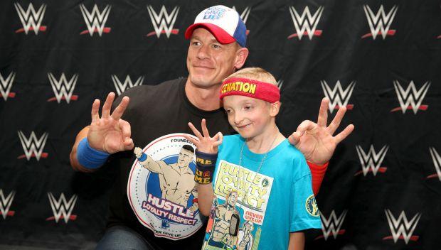 John Cena grants Deegan's wish: photos
