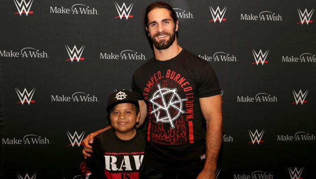 Seth Rollins grants Angel's wish in Boston: photos