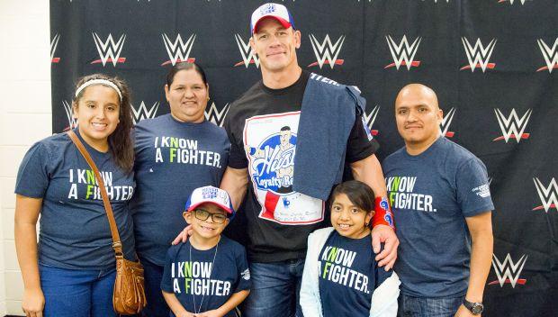John Cena grants Juan's wish: photos