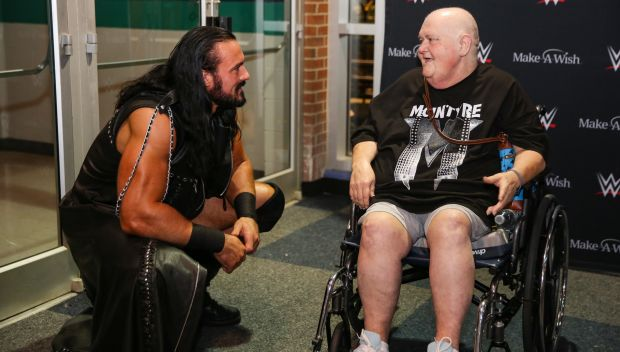 Drew McIntyre grants a wish for Diane in Greensboro: photos