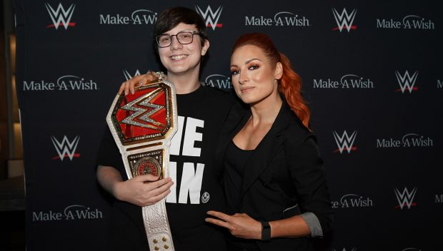 Becky Lynch grants Kyle's wish in San Francisco: photos