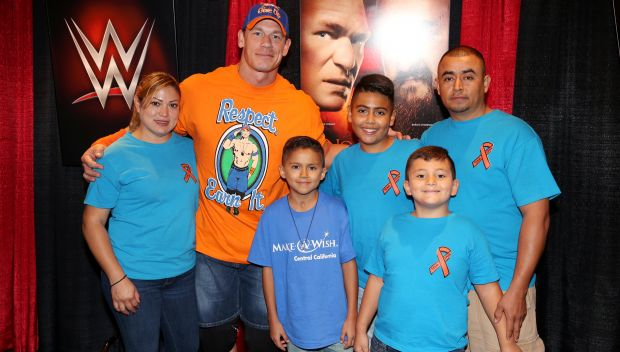 John Cena grants a wish in Los Angeles: photos