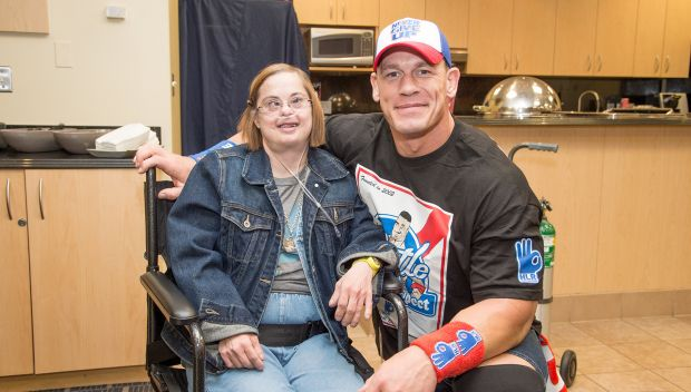 John Cena grants wishes in Cleveland: photos